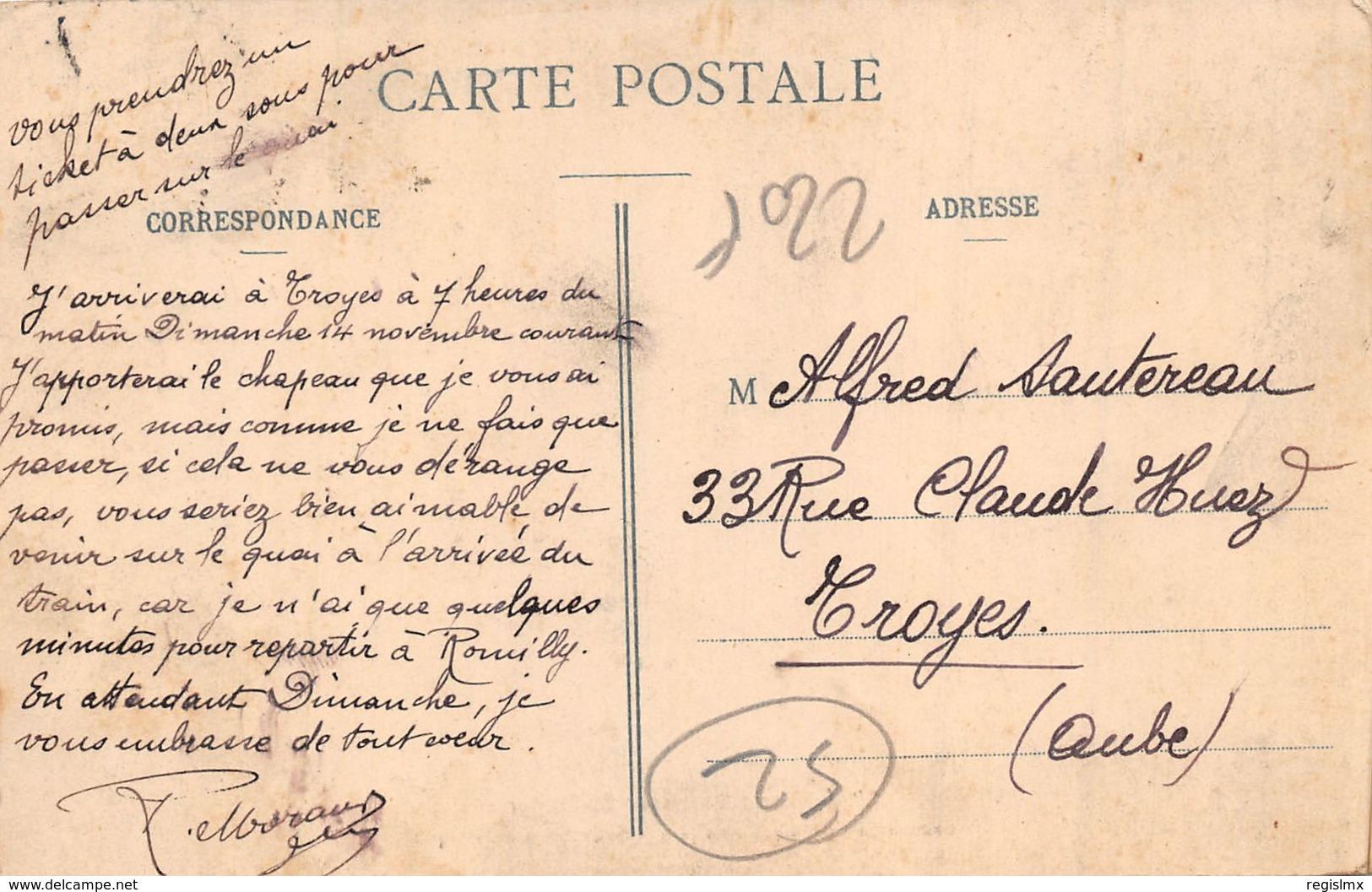 52-SAINT DIZIER-SAUVETEURS EN BARQUE-N°R2044-F/0275 - Saint Dizier