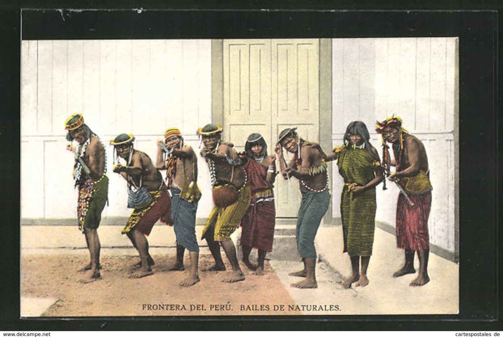 AK Peru, Frontera Del Perú, Bailes De Naturales, Indianer - Peru
