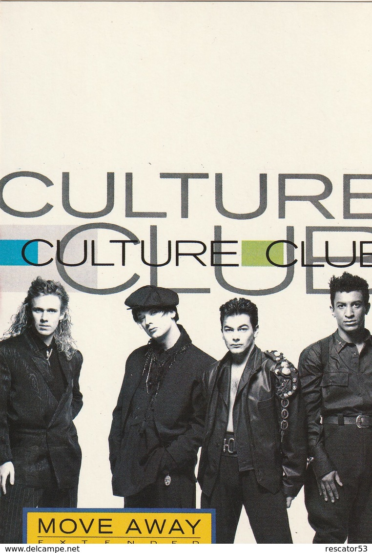Rare Ancienne  Cp  Pop Culture Années 80   Culture Club - Other Products