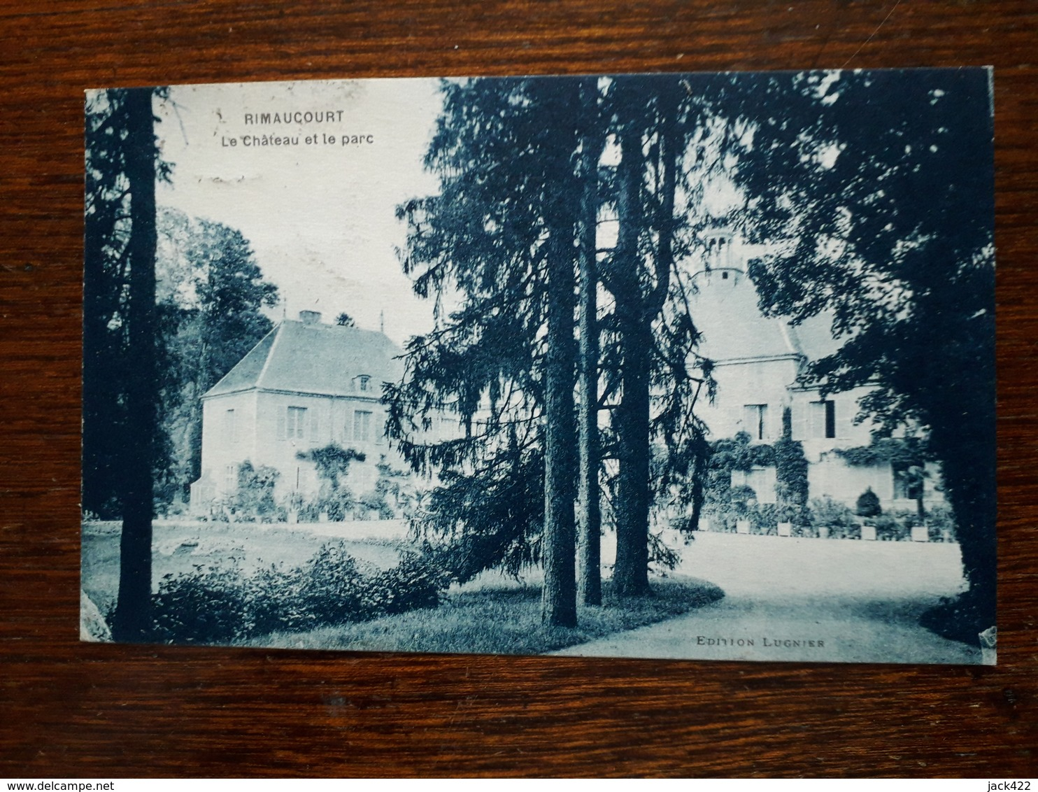 L11/41 Rimaucourt. Le Château Et Le Parc - France