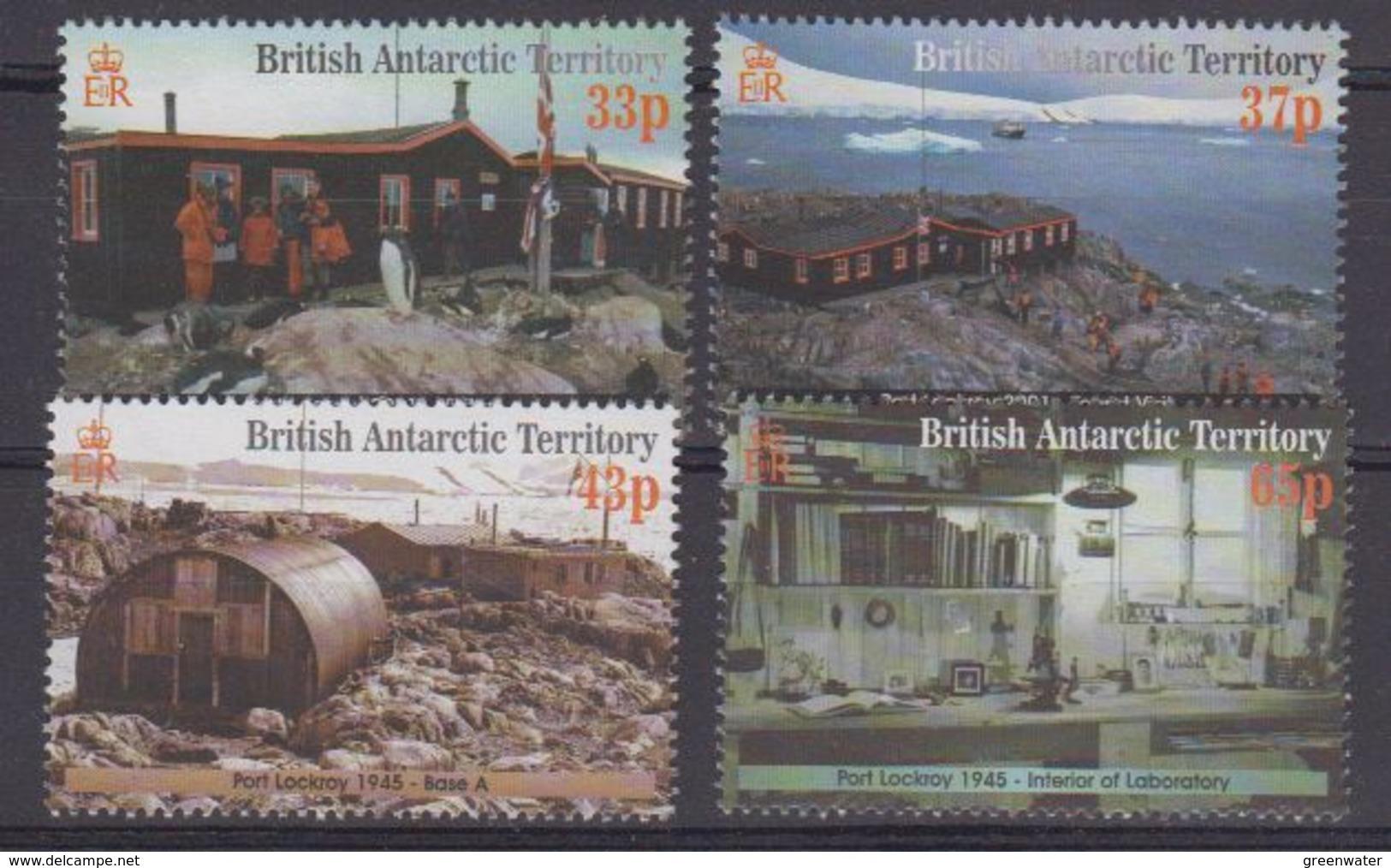 British Antarctic Territory (BAT) 2001 Port Lockroy 4v ** Mnh (40936) - Ongebruikt