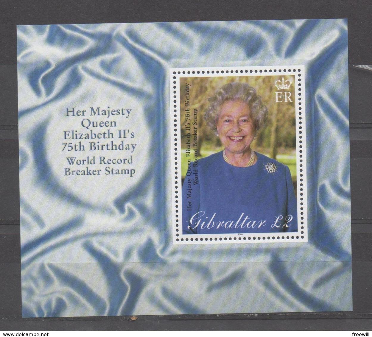 Anniversaire De La Reine Elisabeth - Gibraltar