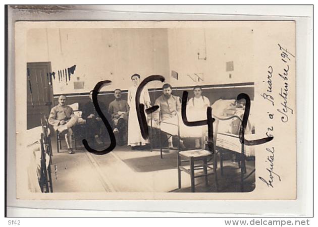 BRIARE         CARTE PHOTO   SALLE  HOPITAL N0 62 - Guerre 1914-18