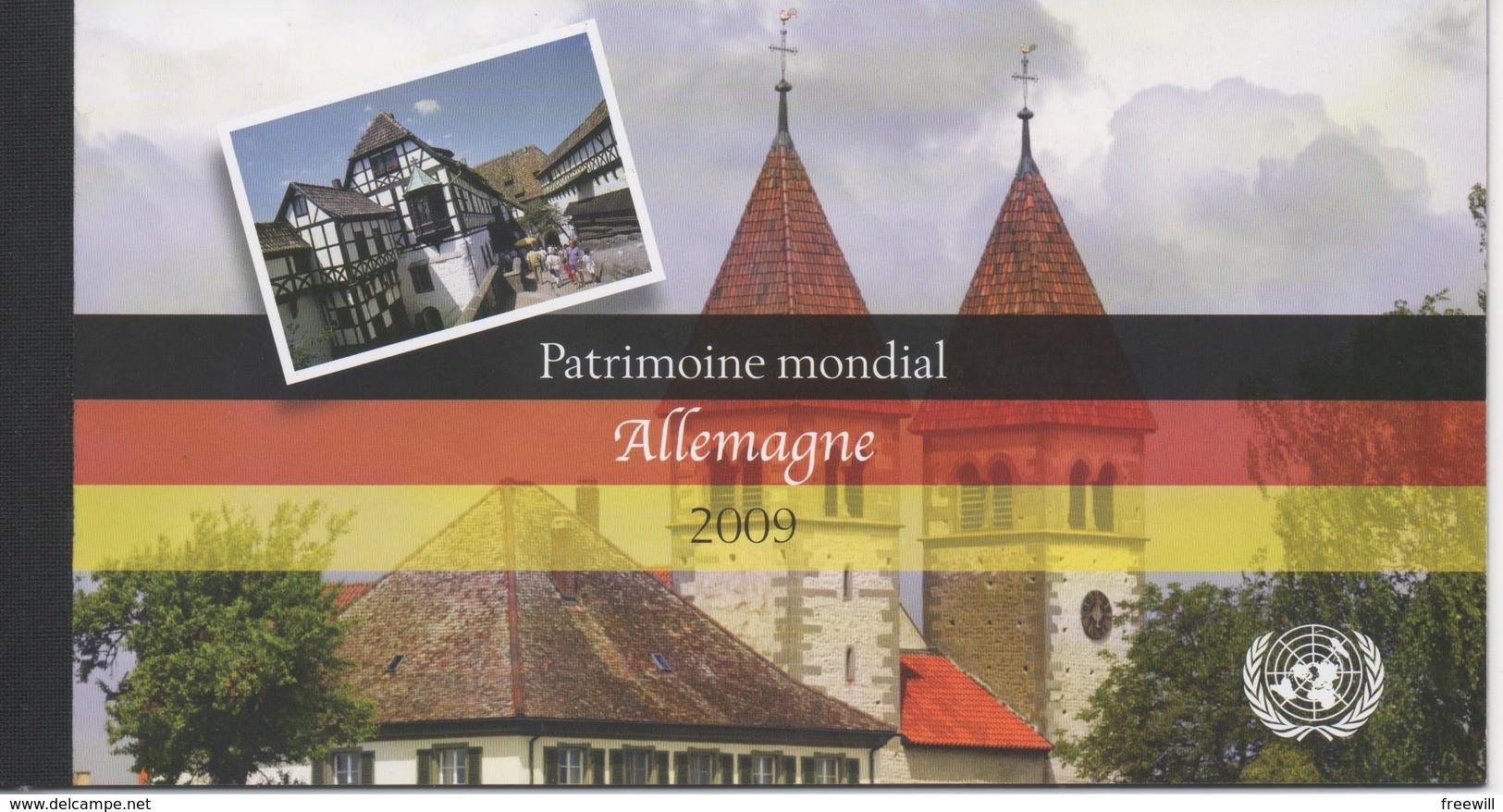 Allemagne , Patrimoine Mondial - Neufs