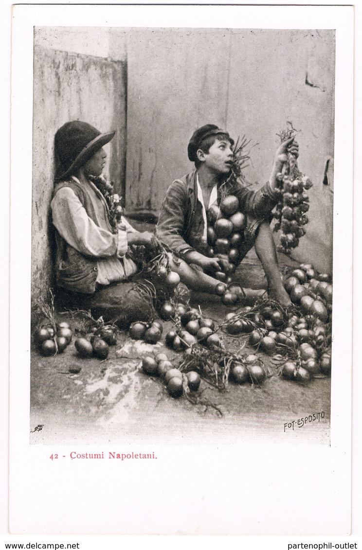 Cartolina - Postcard / Non Viaggiata - Unsent / Costumi Napoletani - Fot-Esposito - Costumi