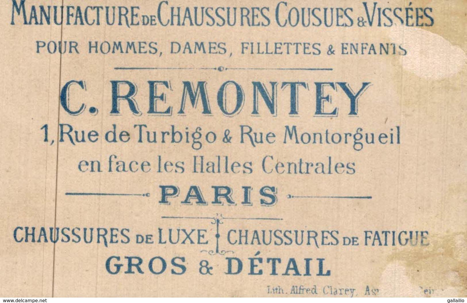 CHROMO CHAUSSURE REMONTEY - Autres