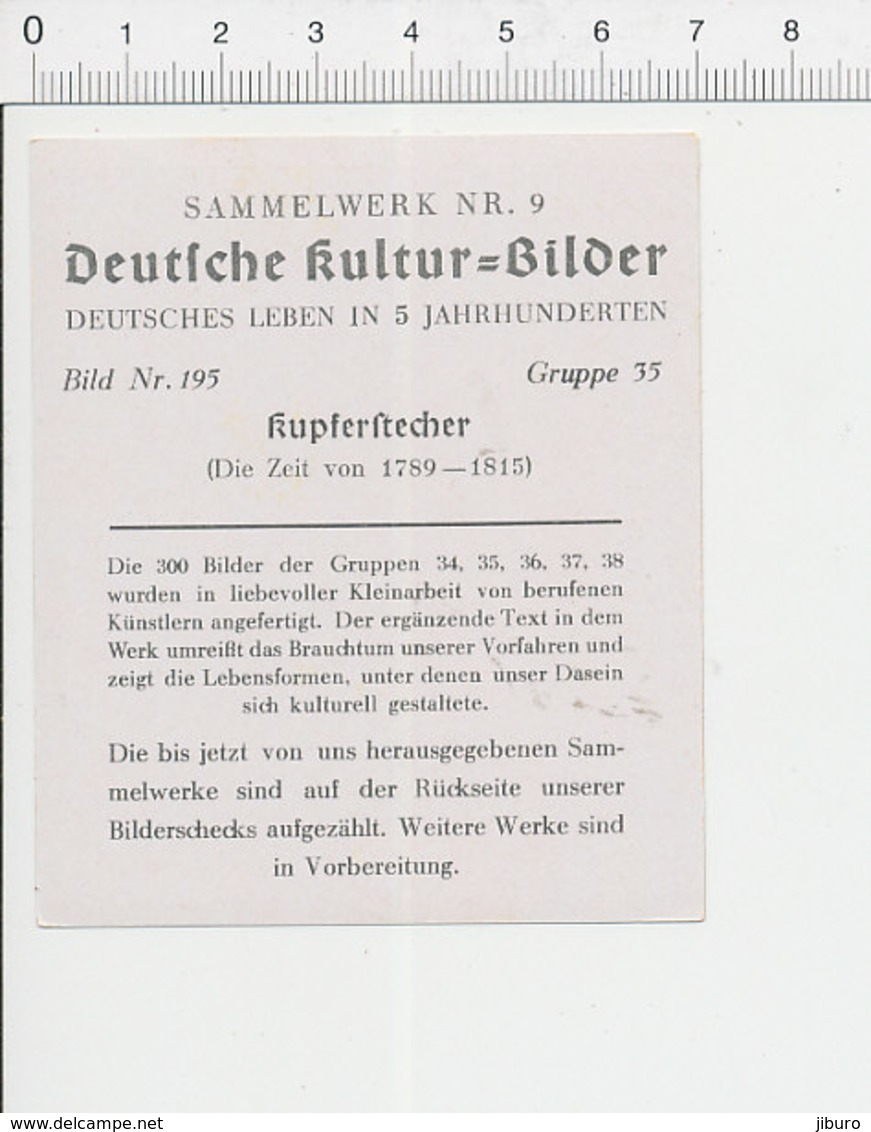 Graveur Sur Cuivre Kupferstecher Kupfer Stecher 39/29 - Autres
