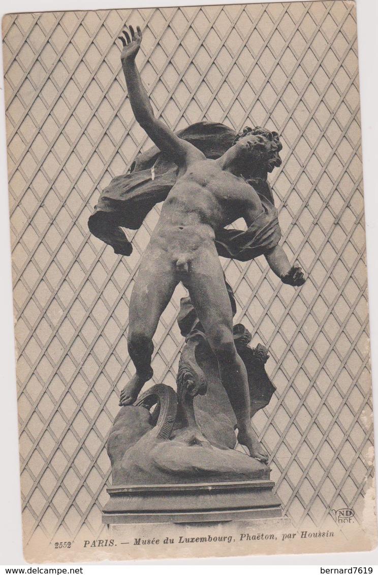 75 Paris  06  Musee Du Luxembourg ,phaeton Par Houssin - Arrondissement: 06