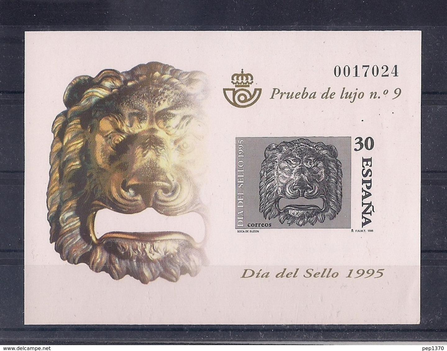 ESPAÑA 1995 - PRUEBA DIA DEL SELLO 1995 - EDIFIL Nº 34 - 1931-Aujourd'hui: II. République - ....Juan Carlos I