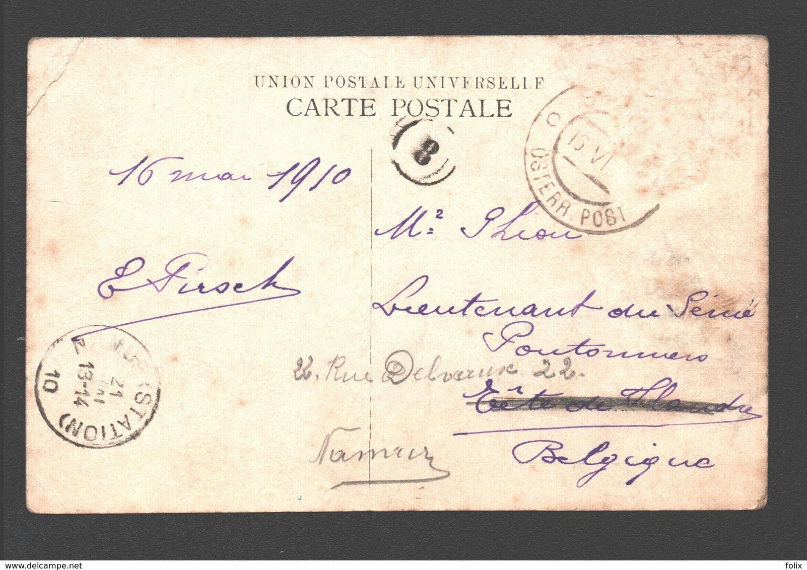 Smyrne - Mouvement Du Port - Paardentram / Horse Tram / Tramway à Cheval - Boat/ Bateau - Harbour / Haven / Hafen - 1910 - Turquie