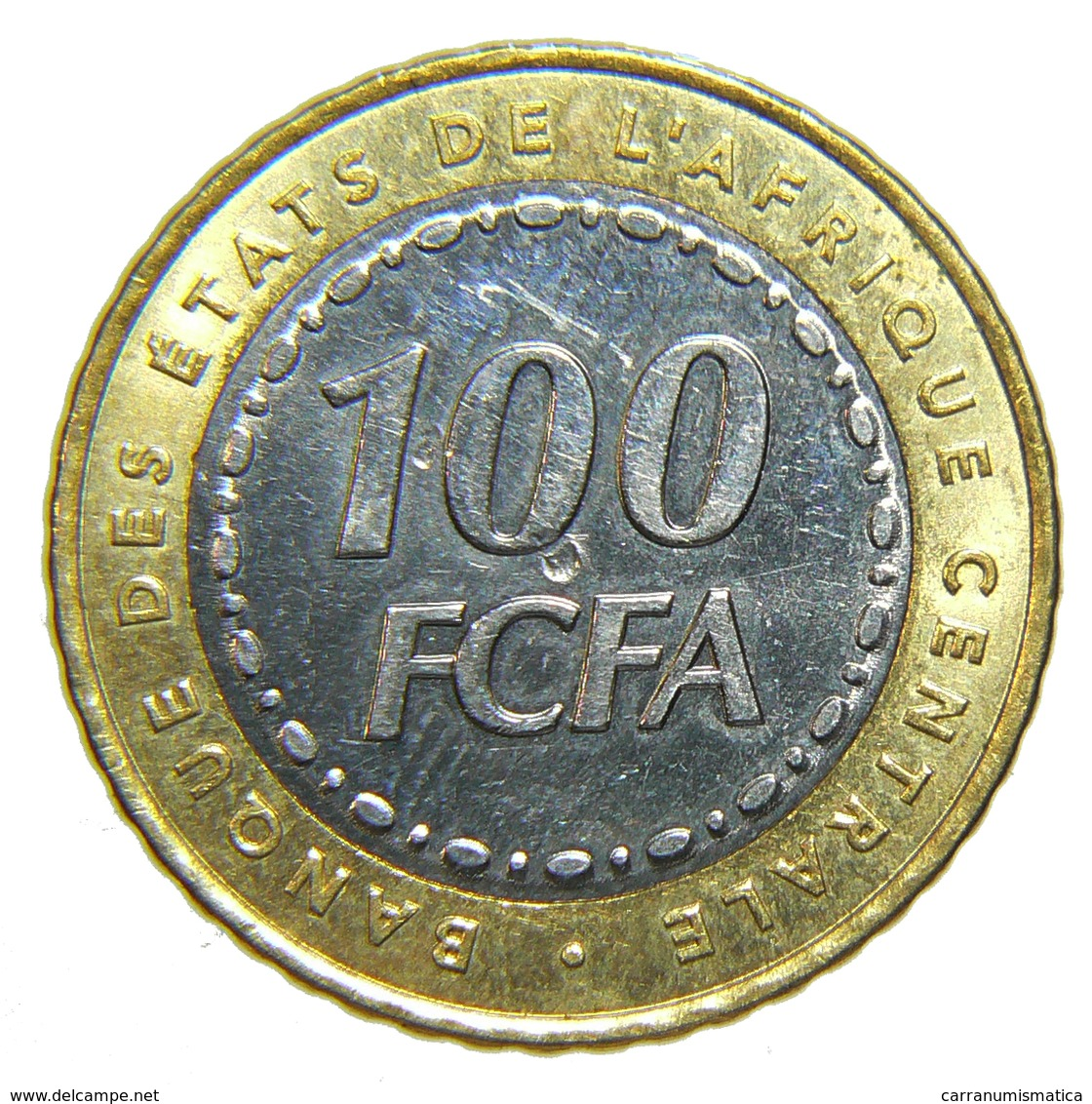 [NC] REPUBBLICA CENTROAFRICANA - 100 FRANCHI 2006 - BIMETALLICA - Repubblica Centroafricana