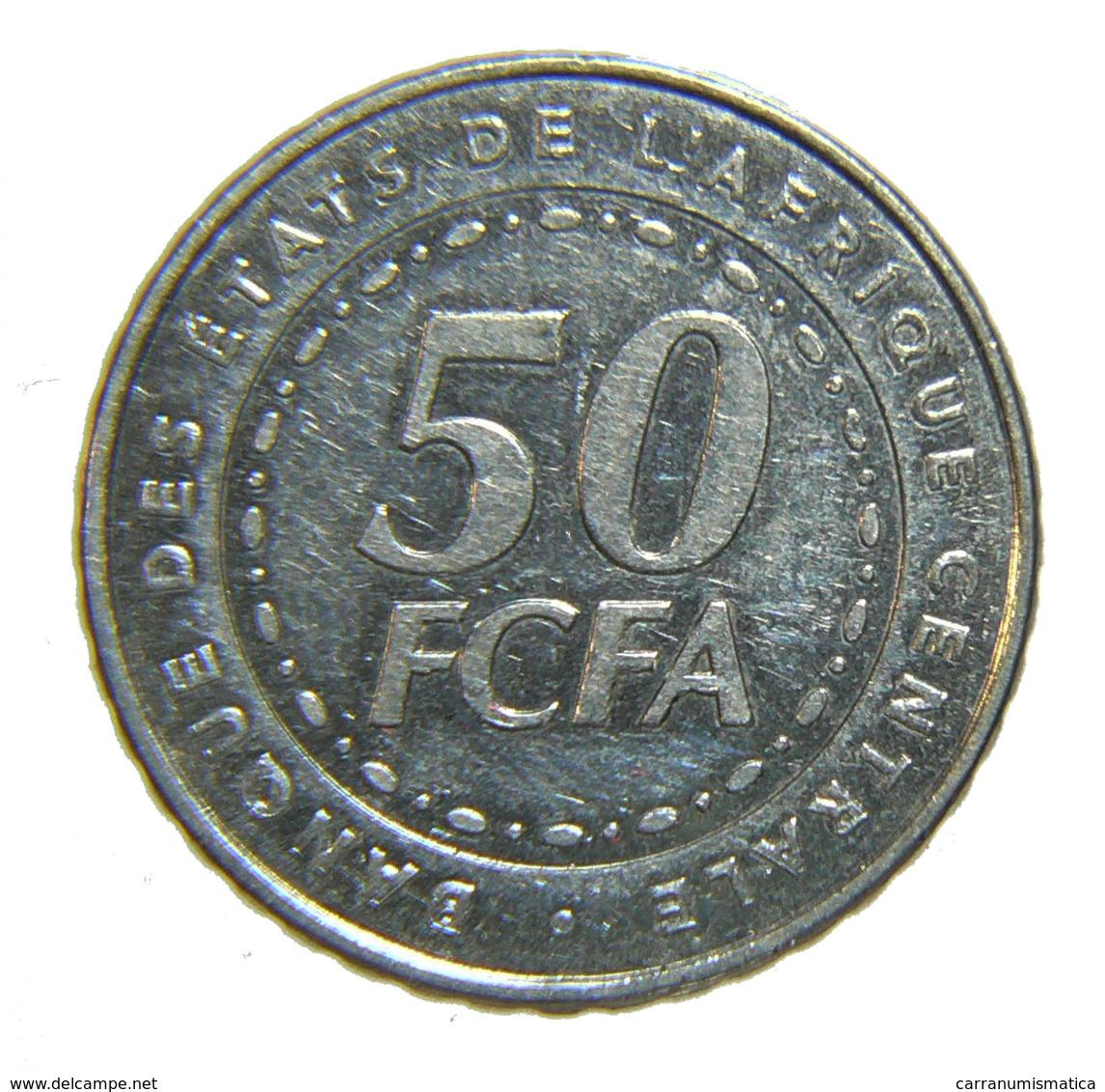[NC] REPUBBLICA CENTROAFRICANA - 50 FRANCHI 2006 - Repubblica Centroafricana