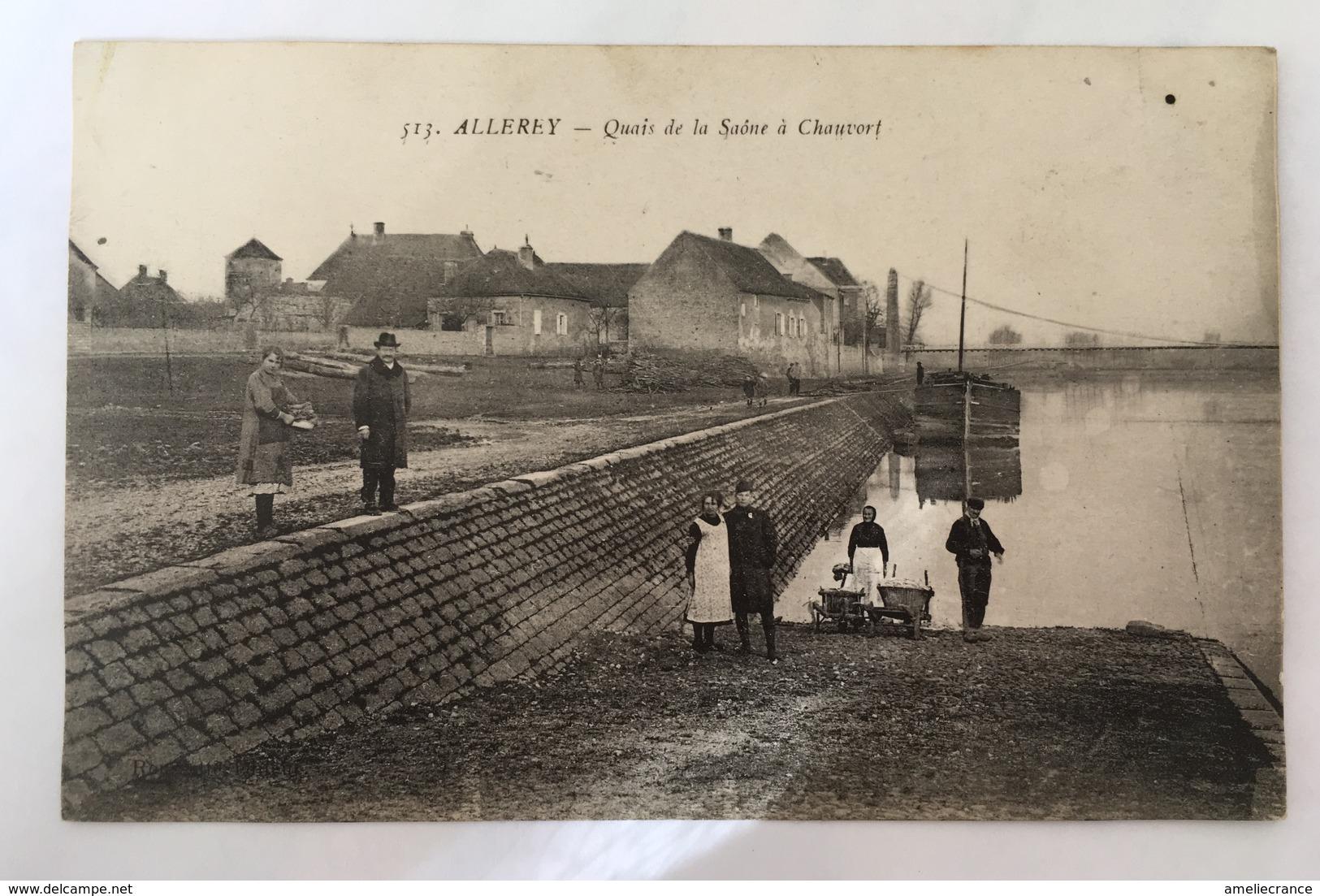 Allerey-Quais De La Saône à Chauvort - Other Municipalities