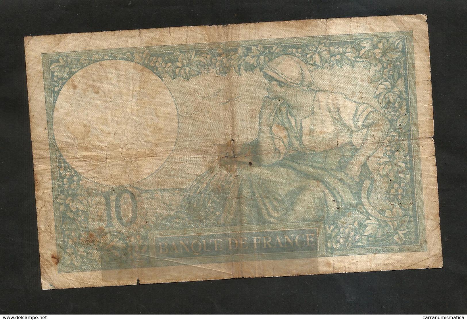FRANCE - BANQUE De FRANCE - 10 Francs MINERVE (FM. 9 - 6 - 1932) - 1871-1952 Antichi Franchi Circolanti Nel XX Secolo