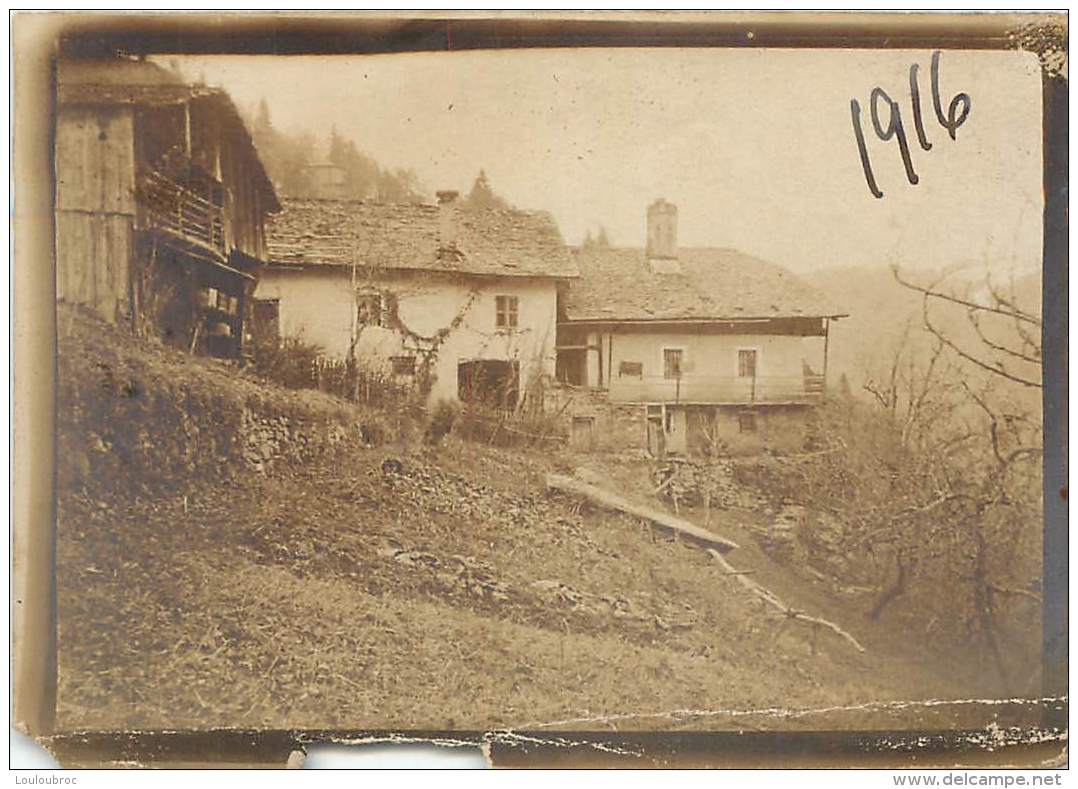 PHOTO ORIGINALE  1916  FORMAT  9 X 6.5 CM - Guerre, Militaire