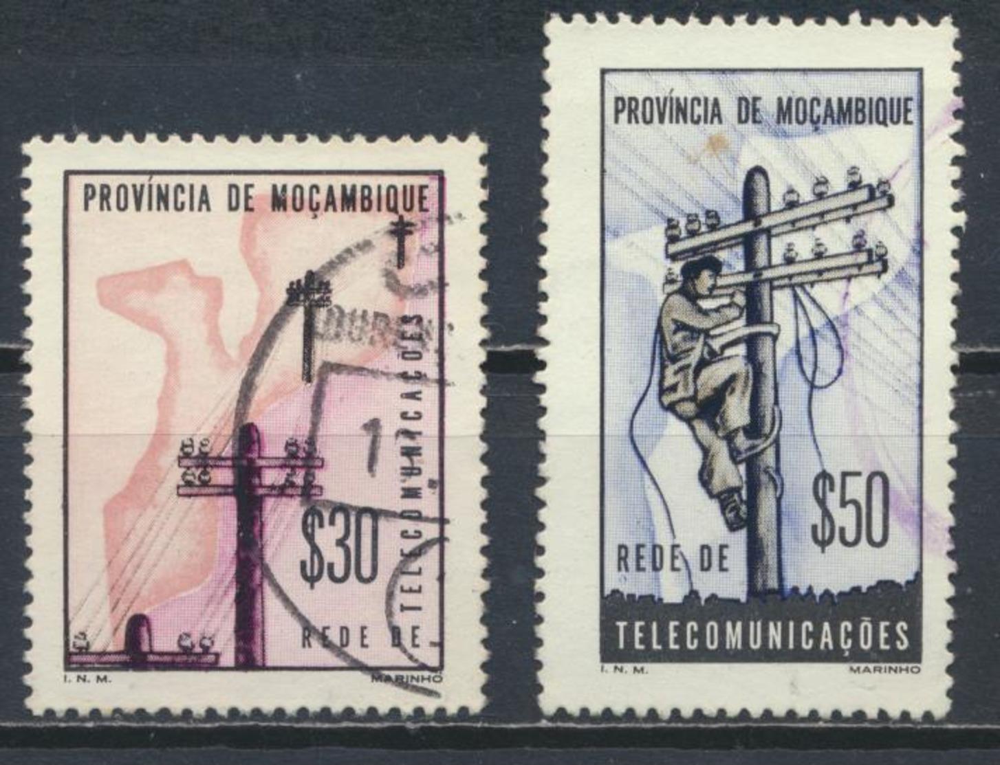 °°° MOZAMBIQUE MOZAMBICO - Y&T N°519/20 - 1965 °°° - Mozambico