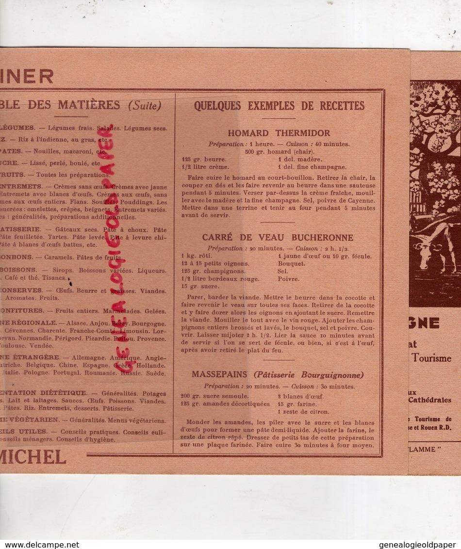 29- BREST-RARE COUVRE LIVRE ARTAULT-RAT MACE AGENCE JOURNAUX PAPETERIE LIBRAIRIE-JE SAIS CUISINER -CUISINE-ALBIN MICHEL- - C