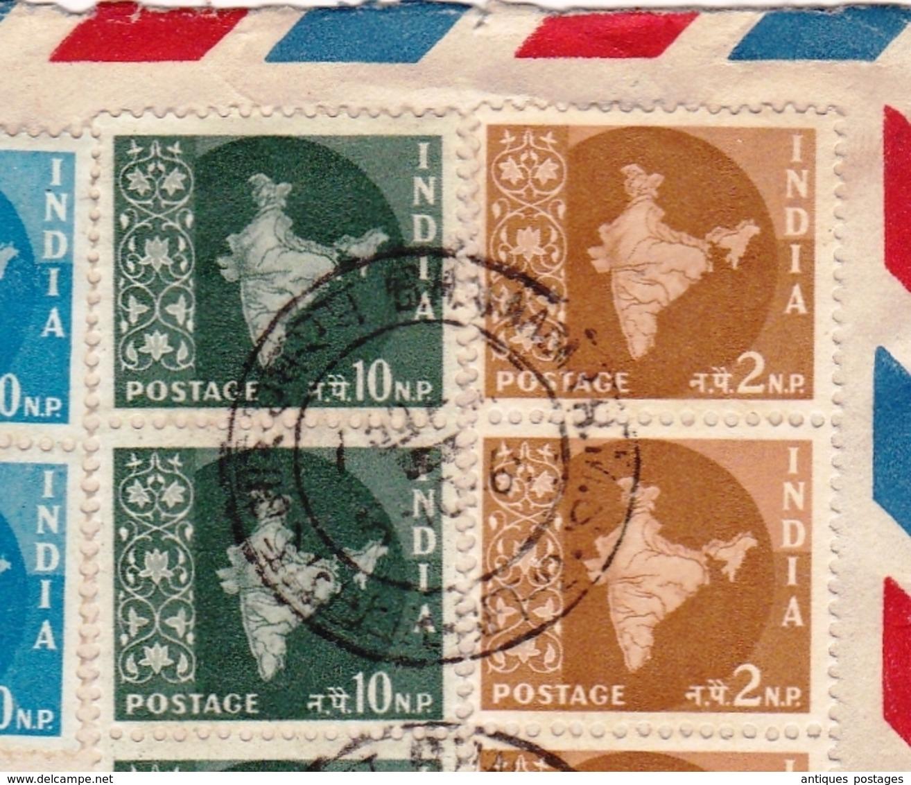 Lettre Bhavnagar Inde India Suisse Switzerland Delémont - Brieven En Documenten