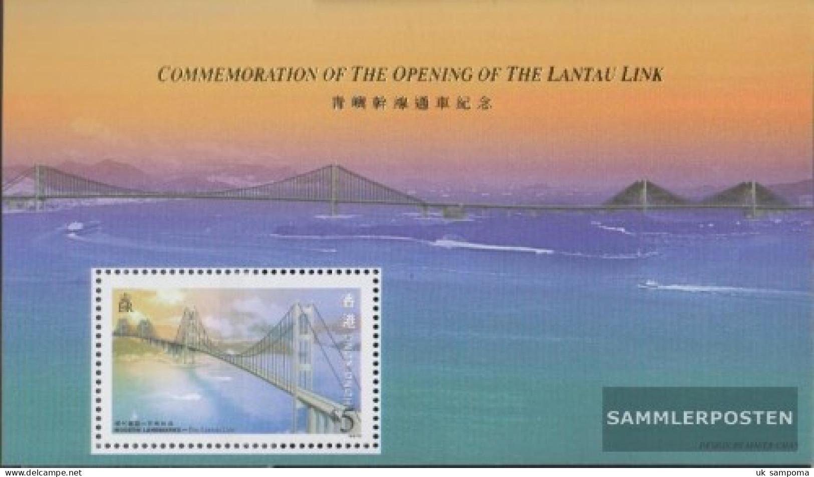 Hong Kong Block53 (complete Issue) Unmounted Mint / Never Hinged 1997 Opening Lantau Bridge - Unused Stamps