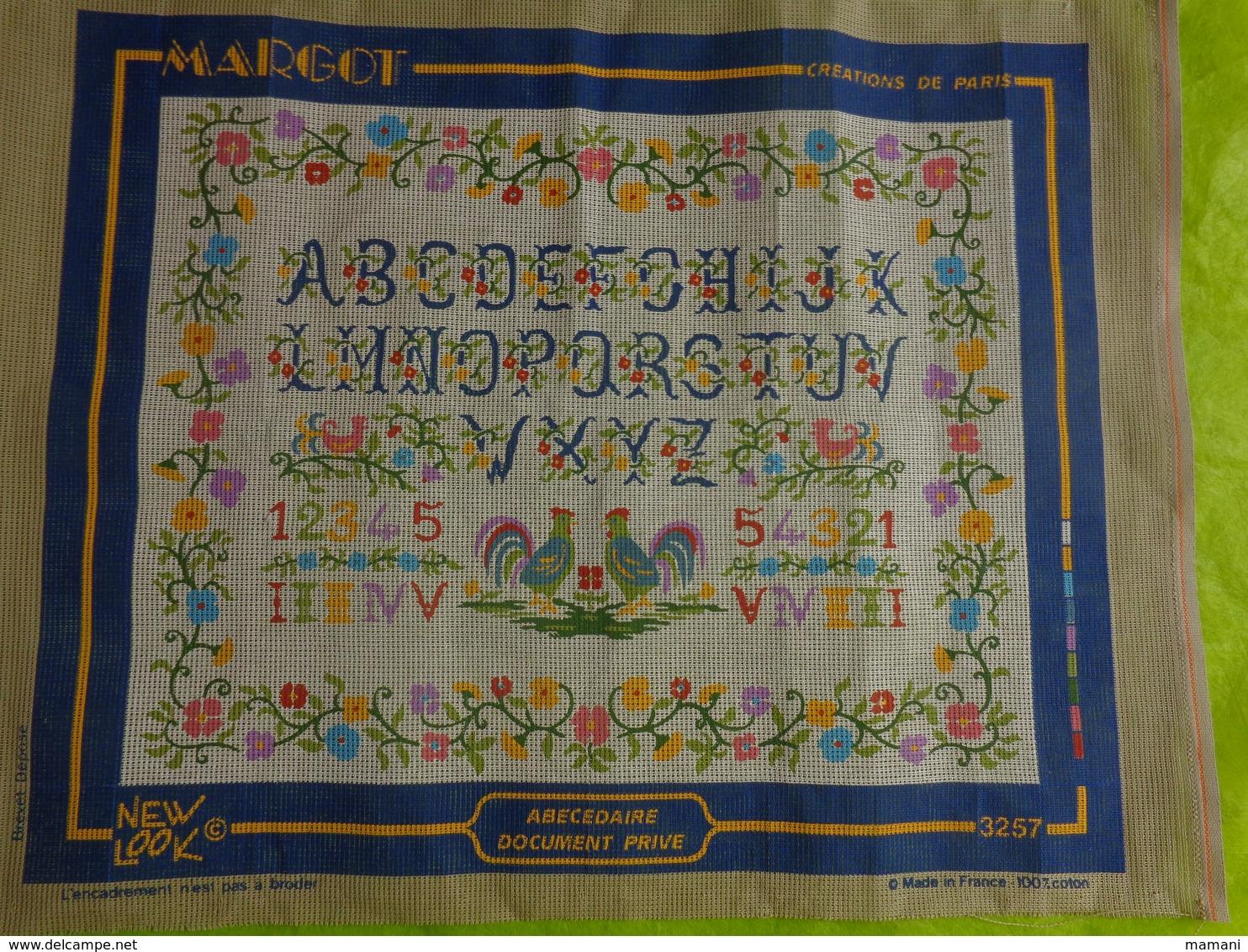 Abecedaire 36x47 Margot A Executer - Creative Hobbies