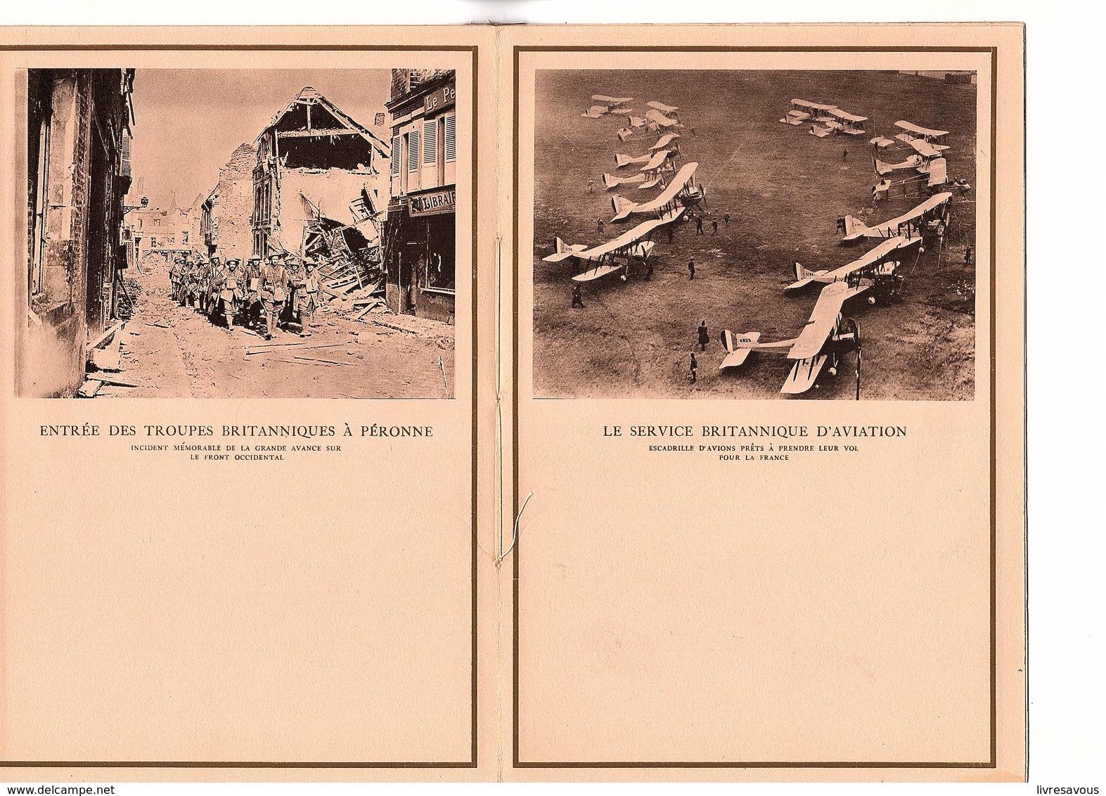 Buvard Porte Document De 16 Pages L'Empire Britannique En Guerre Le Maréchal Sir Douglas Haig Année 1920? - Blotters