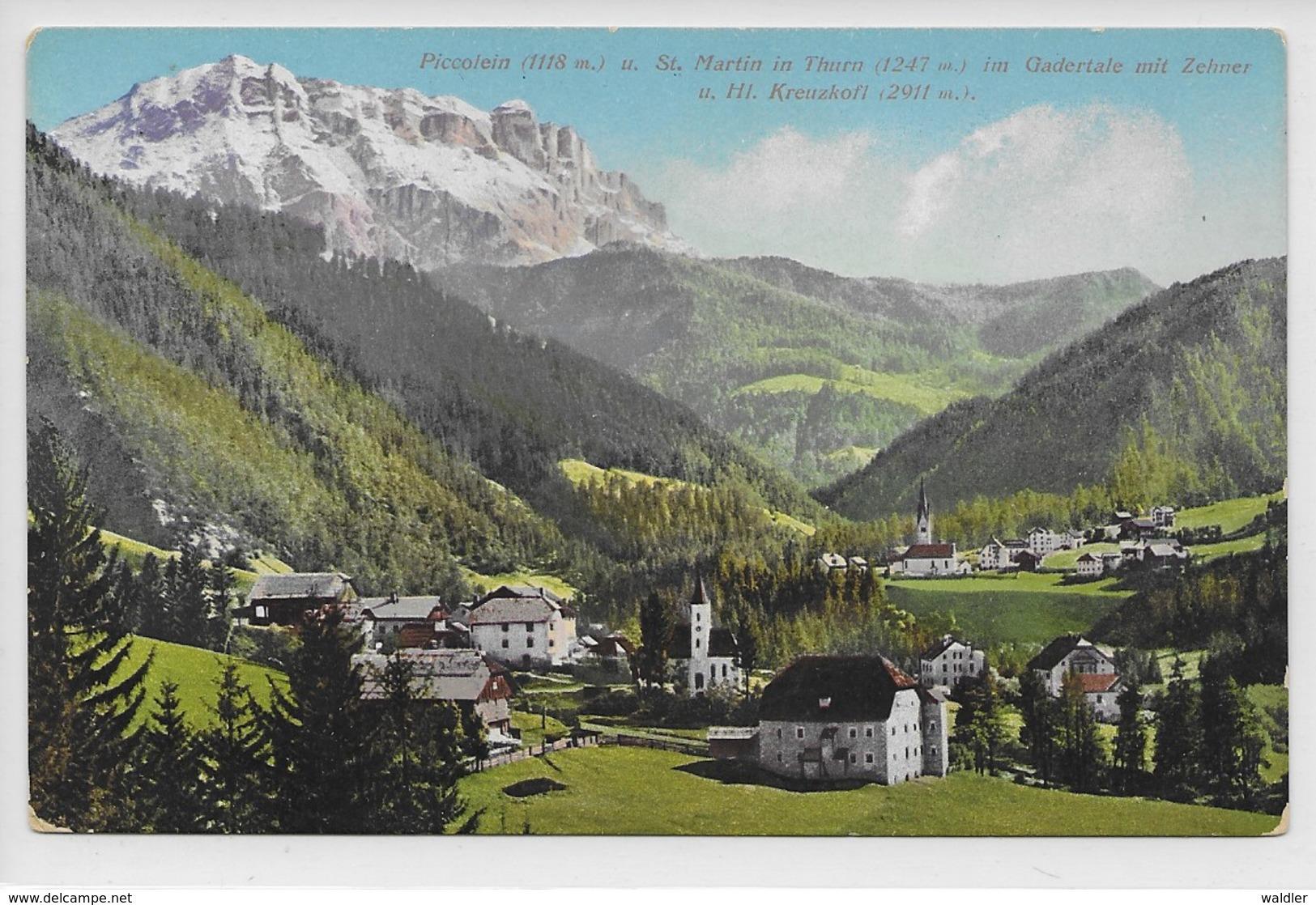 39030   PICCOLEIN U. ST. MARTIN IN THURN  - GARDATAL  ~ 1905 - Italia