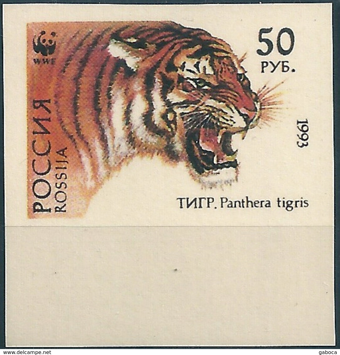 B3772 Russia Rossija Fauna Animal Tiger (50 Rubel) Organization Colour Proof - 1992-.... Federation