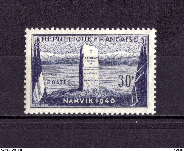 N° 922  NEUF** - France