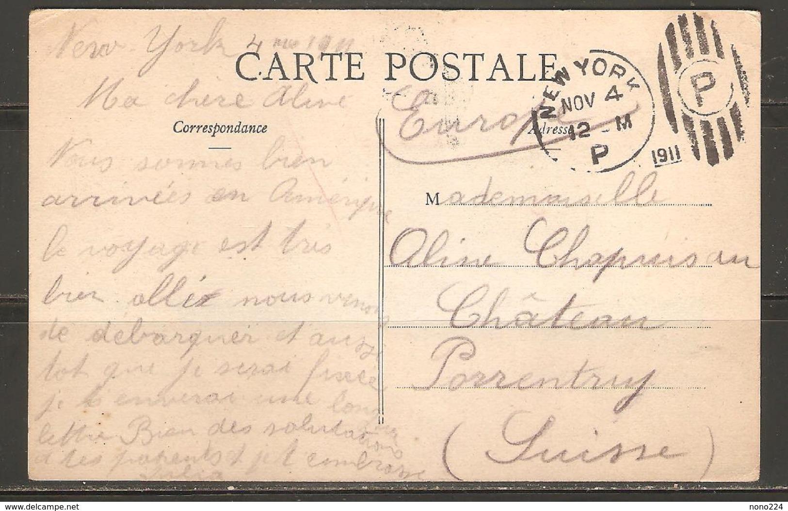 Carte P ( Etats-Unis / Transatlantique / Caroline ) - Paquebots