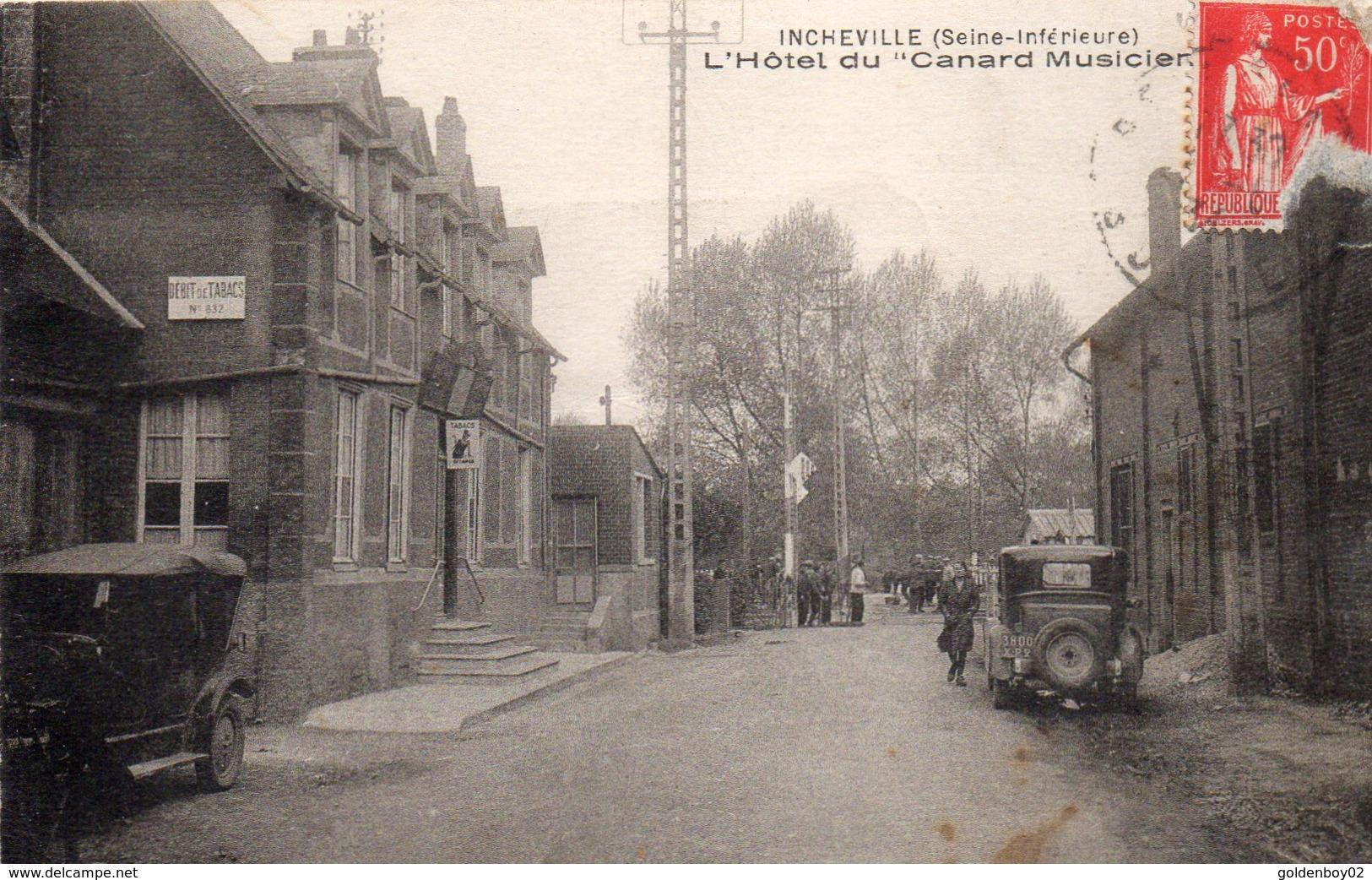 76 Incheville, L'hotel Du Canard Musicien - France