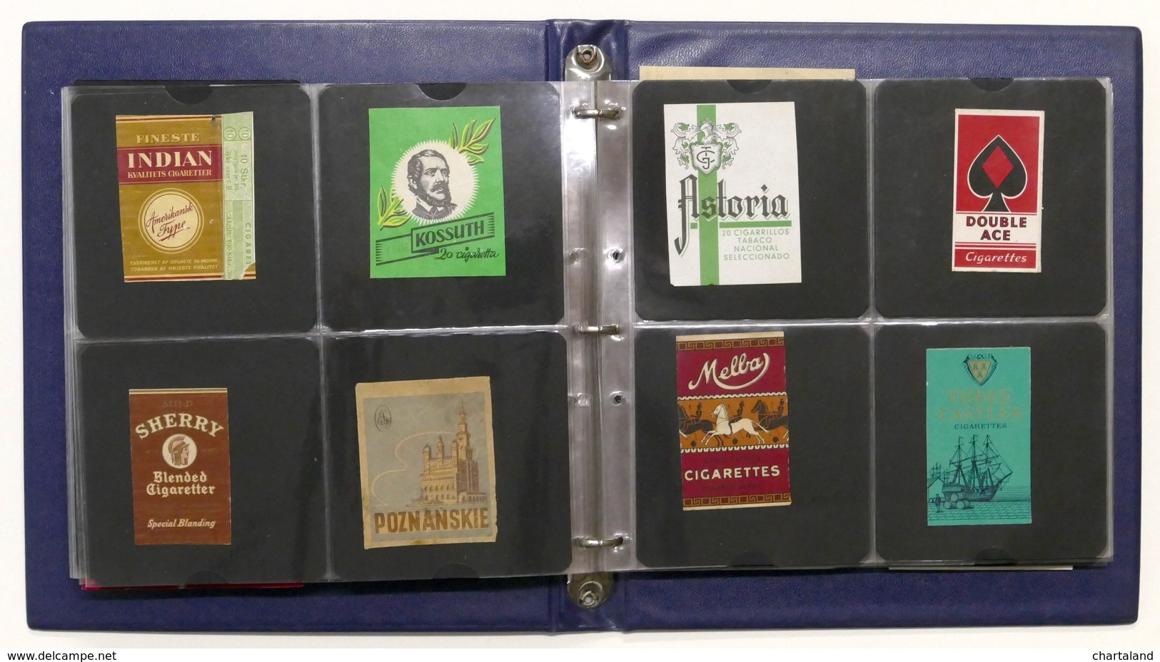 Collezionismo Tabacchi Grande Lotto Etichette Fustelle Varie Marche Di Sigarette - Werbung
