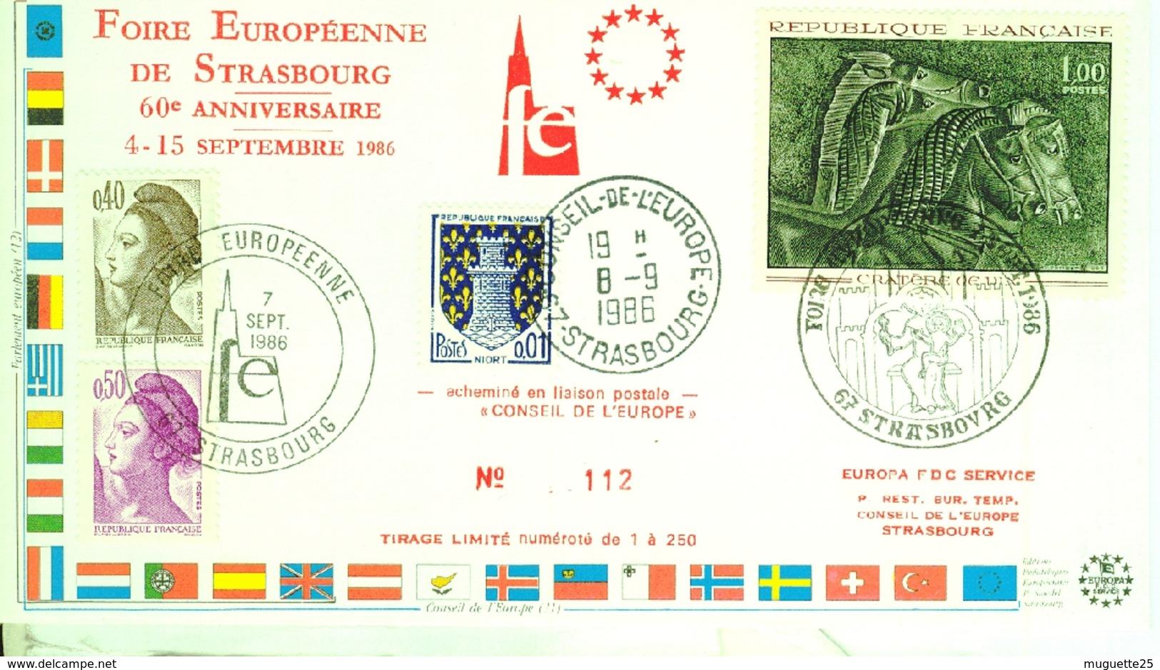 Foire Européenne De Strasbourg  Conseil De L'Europe -9 Septembre 1966 - 1966