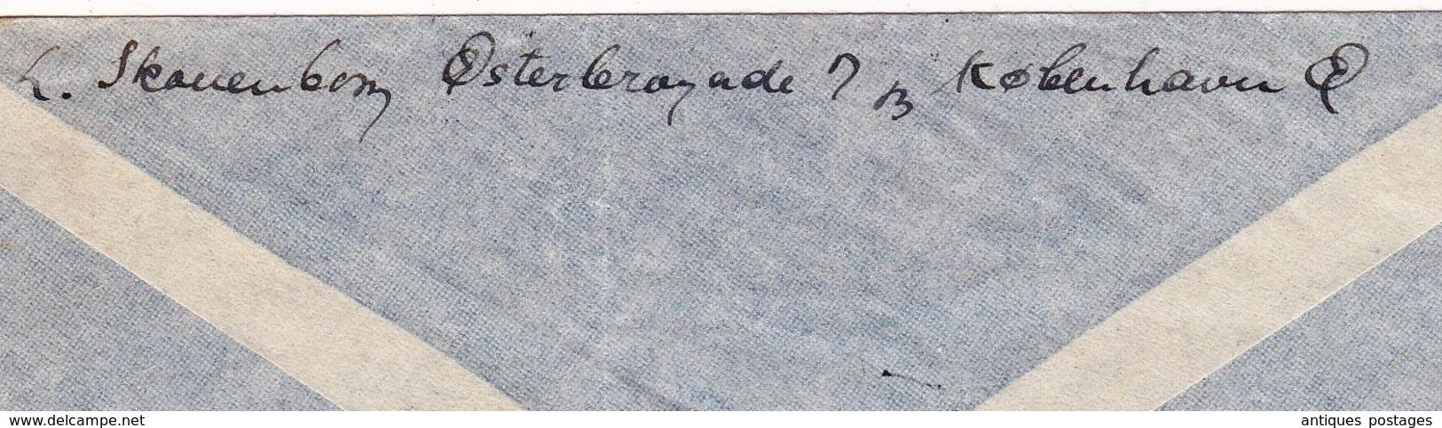 Lettre Copenhague Julen 1945 København Danemark Kongeriget Danmark Washington USA - Brieven En Documenten