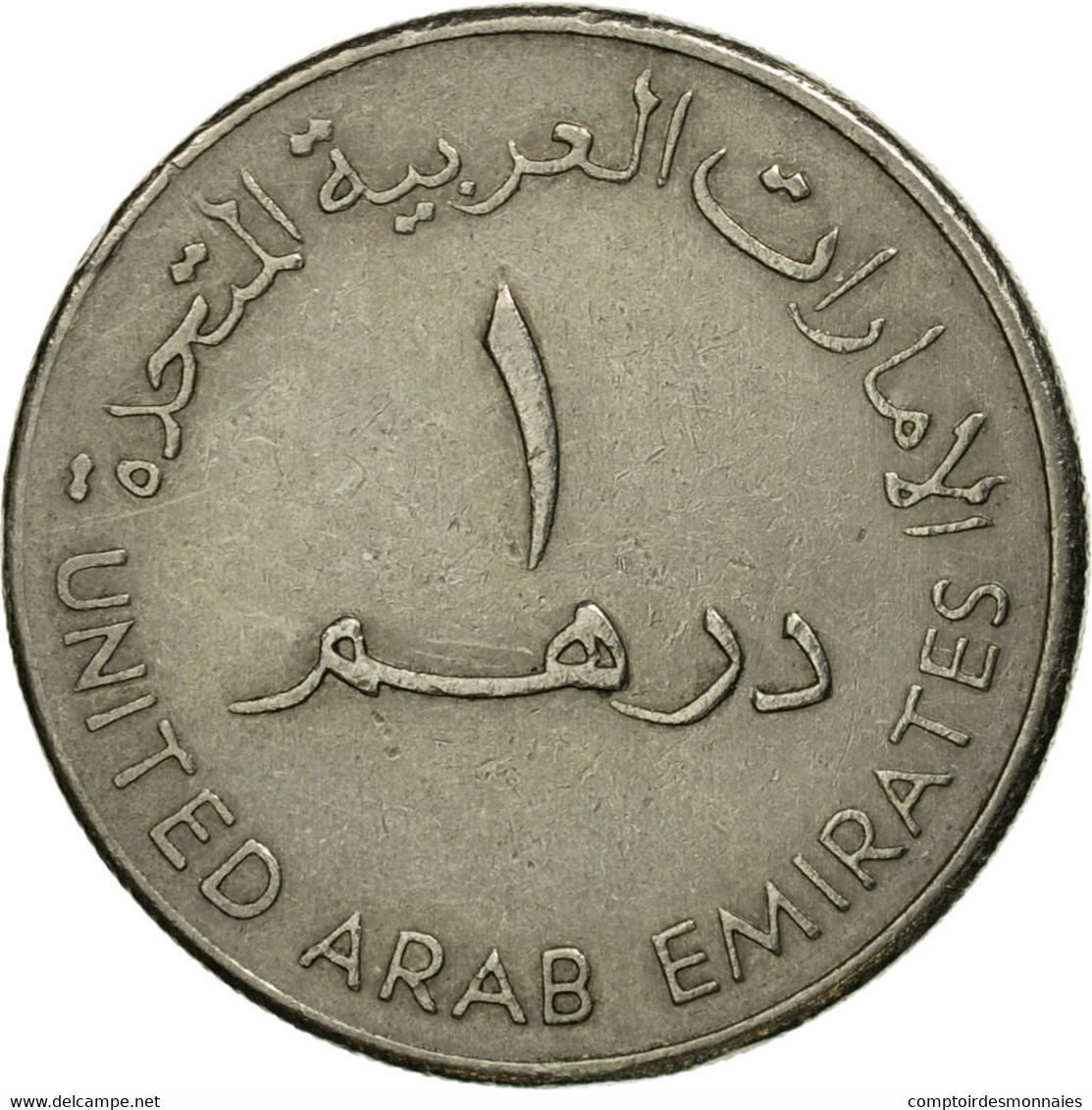 Monnaie, United Arab Emirates, Dirham, 1998/AH1419, British Royal Mint, TB+ - Emirats Arabes Unis