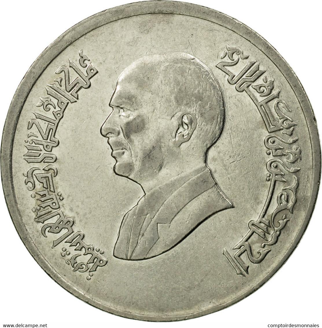 Monnaie, Jordan, Hussein, 5 Piastres, 1998/AH1418, TTB, Nickel Plated Steel - Jordanie