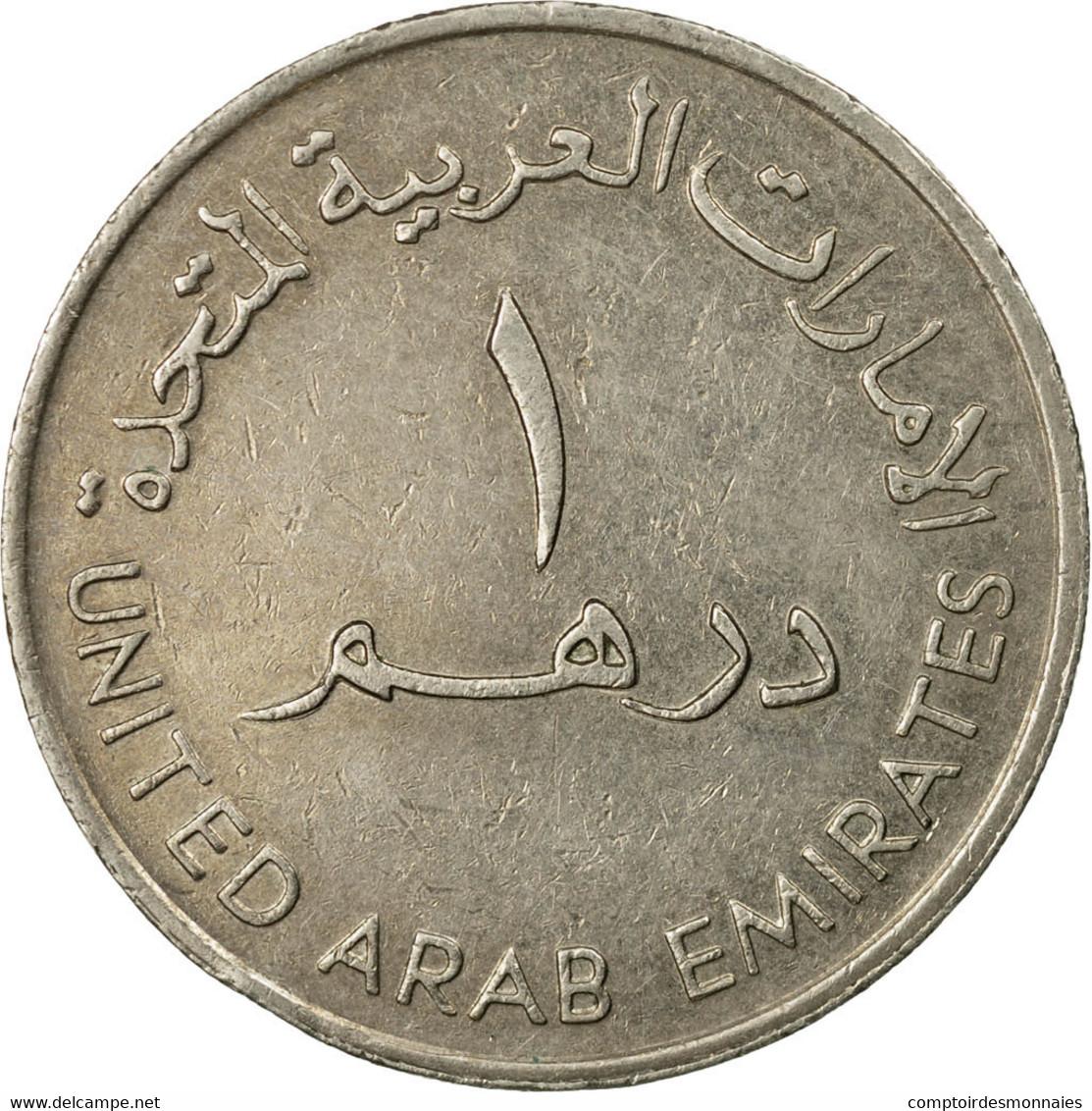 Monnaie, United Arab Emirates, Dirham, 1989/AH1409, British Royal Mint, TB+ - Emirats Arabes Unis