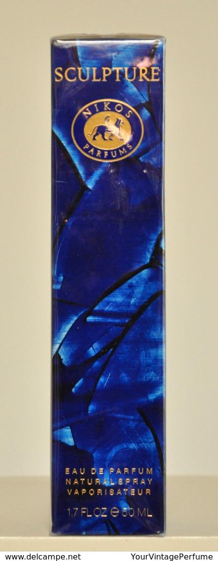 Nikos Sculpture Pour Femme Eau De Parfum Edp 30ML 1 Fl. Oz. Perfume For Woman Rare Vintage Old 1994 New Sealed - Women