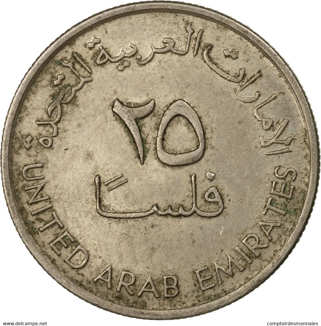 Monnaie, United Arab Emirates, 25 Fils, 1973/AH1393, British Royal Mint, TB+ - Emirats Arabes Unis