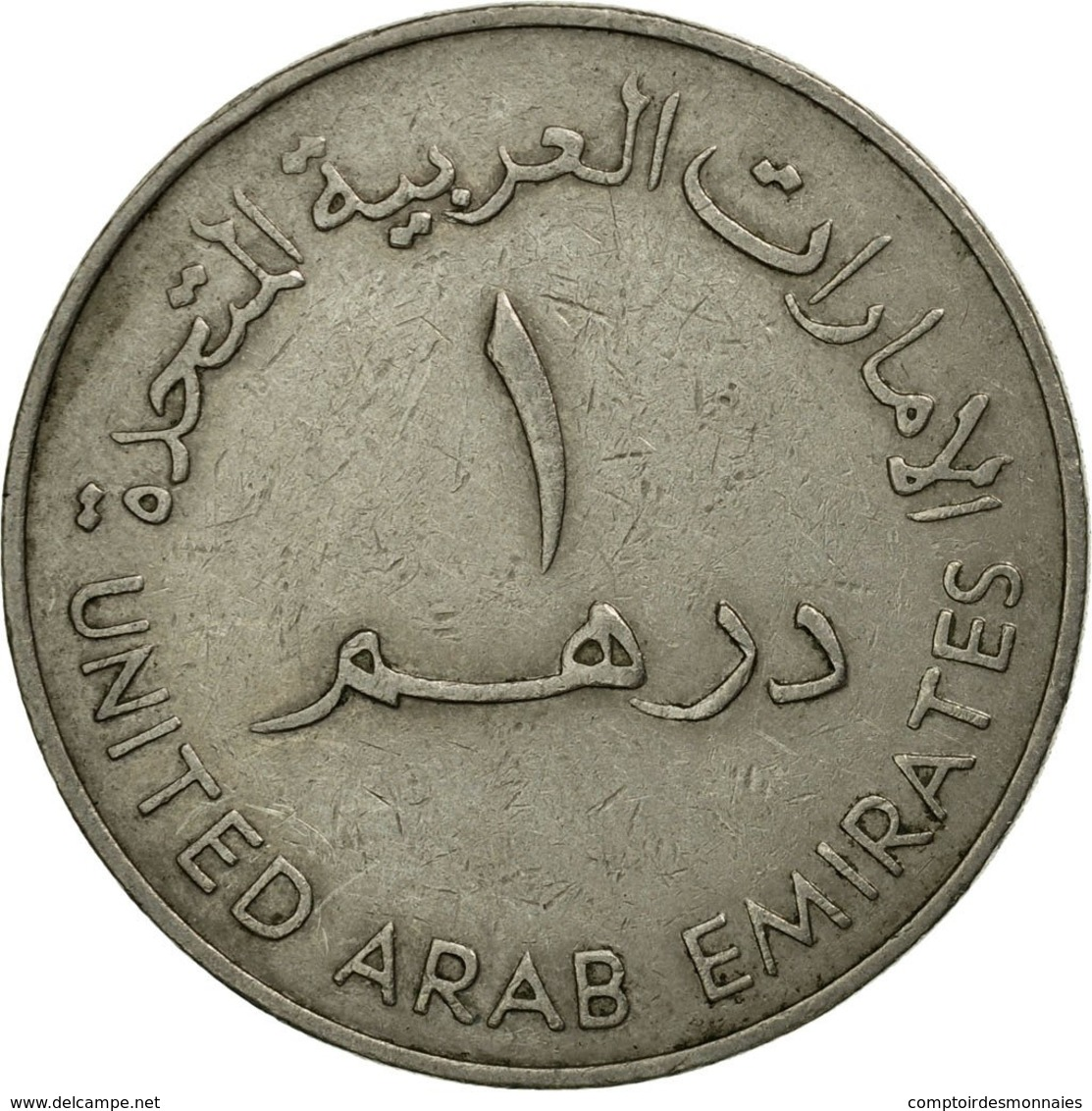 Monnaie, United Arab Emirates, Dirham, 1973/AH1393, British Royal Mint, TTB - Emirats Arabes Unis