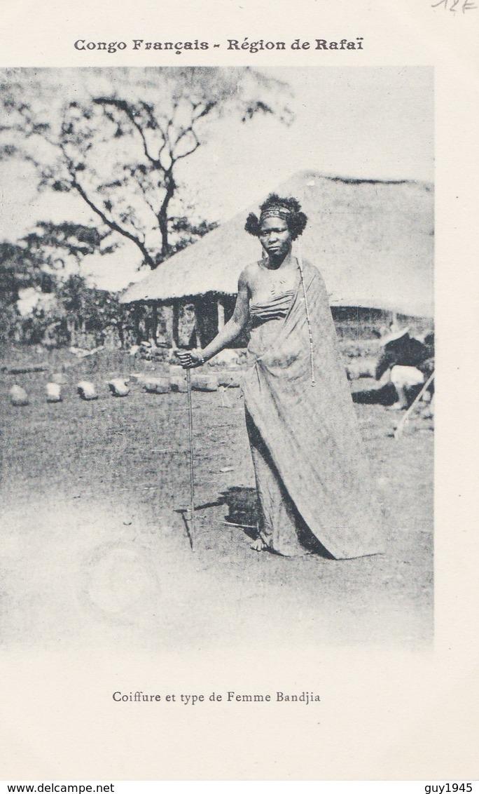 CONGO Région De RAFAÏ  Coiffure Et Type De Femme BANDJIA - Congo Français - Autres