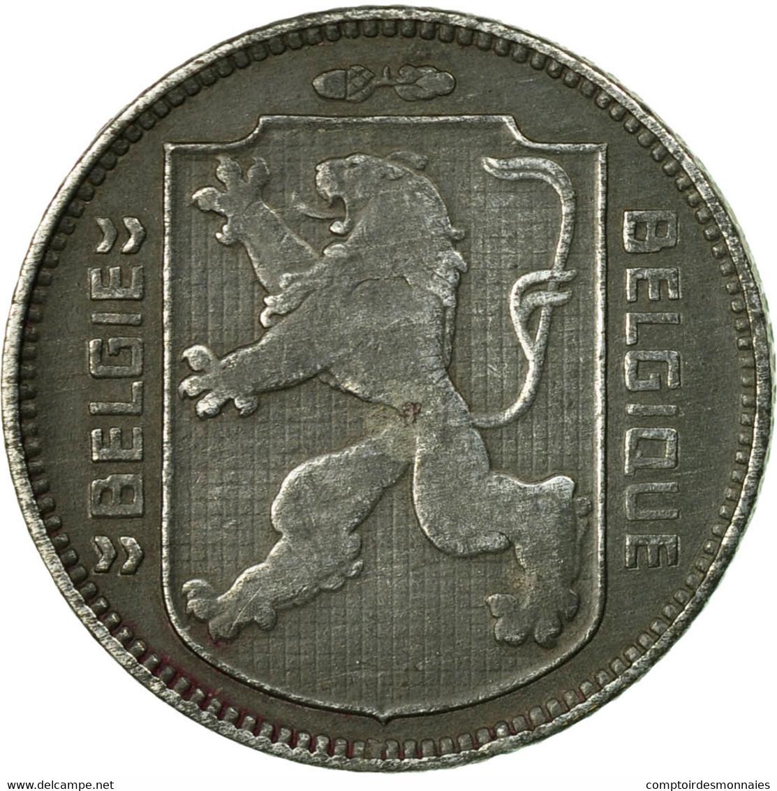 Monnaie, Belgique, Franc, 1945, TTB, Zinc, KM:128 - 1934-1945: Leopold III