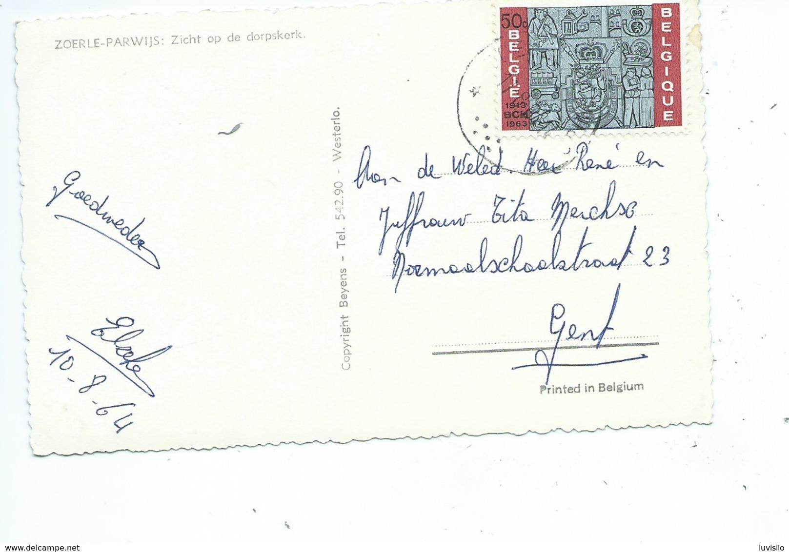 Zoerle Parwijs Zicht Op De Dorpskerk - Westerlo