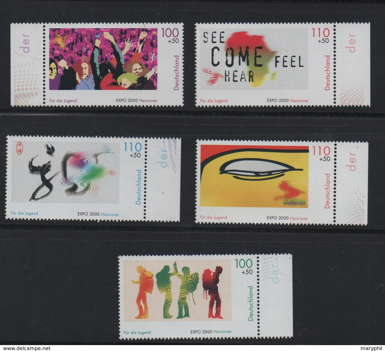 LOT 193 - ALLEMAGNE   N° 1950/1955 ** -  EXPOSITIONS UNIVERSELLES HANOVRE - COTE 18 € - 2000 – Hanover (Germany)