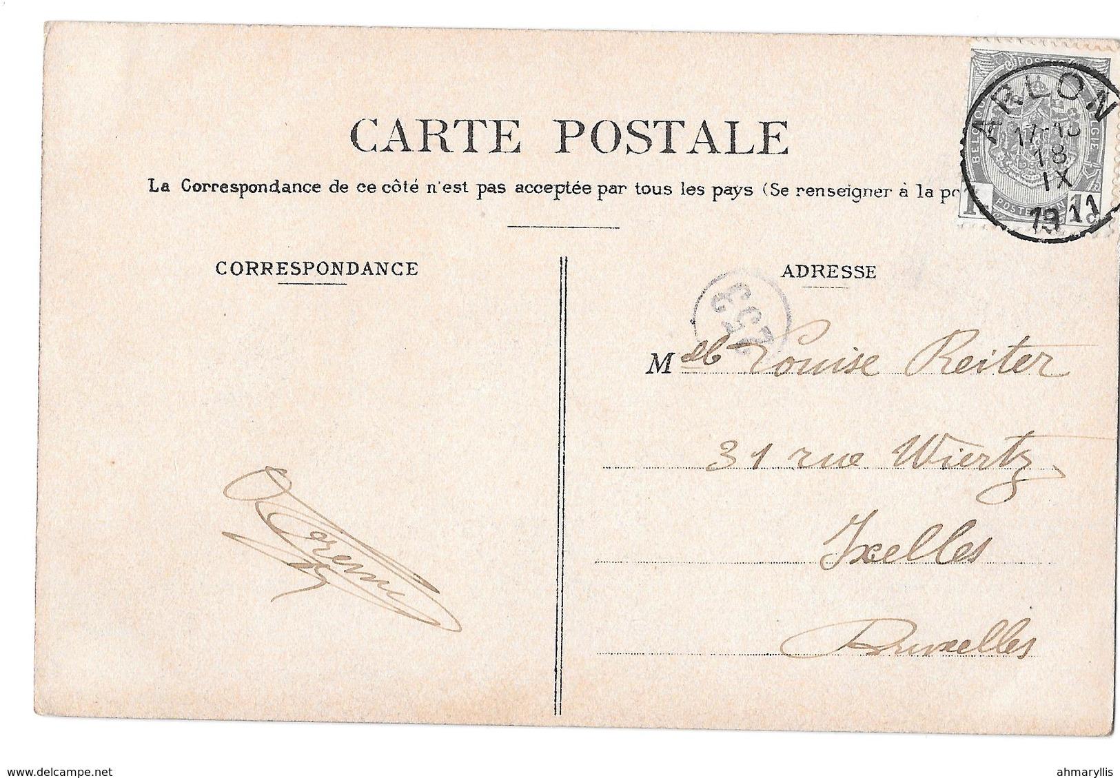 Environs D'arlon  Stockem Route De Freylange Duparque Bon état 1911 - Arlon