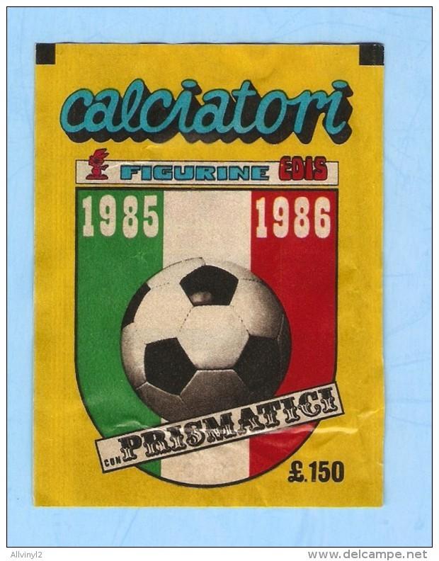CALCIATORI 1985 1986  EDIS , POCHETTE NEUVE .  SEALED - Edizione Italiana
