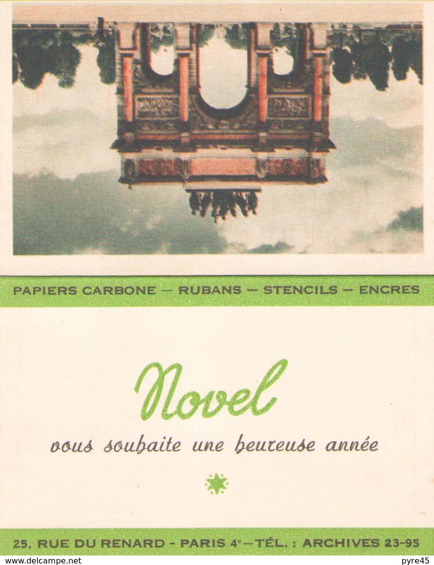 Calendrier Publicitaire Novel 1956 - Calendriers