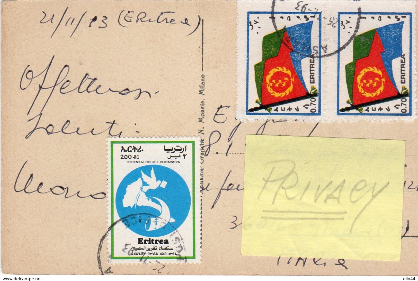 Africa Orientale - Eritrea - Guerrieri Cunama - - Eritrea