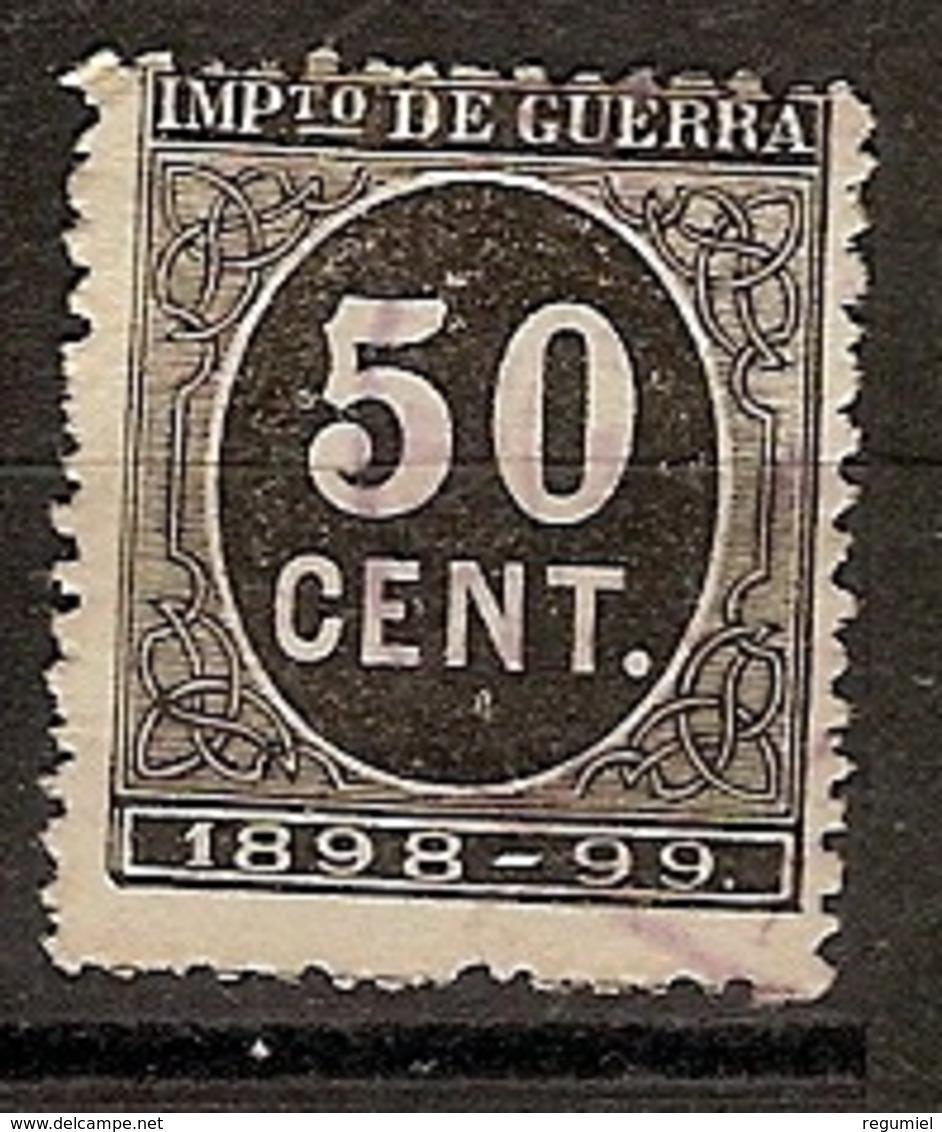 España Impuesto De Guerra U 27 (o) Cifra 0.50 - Impuestos De Guerra