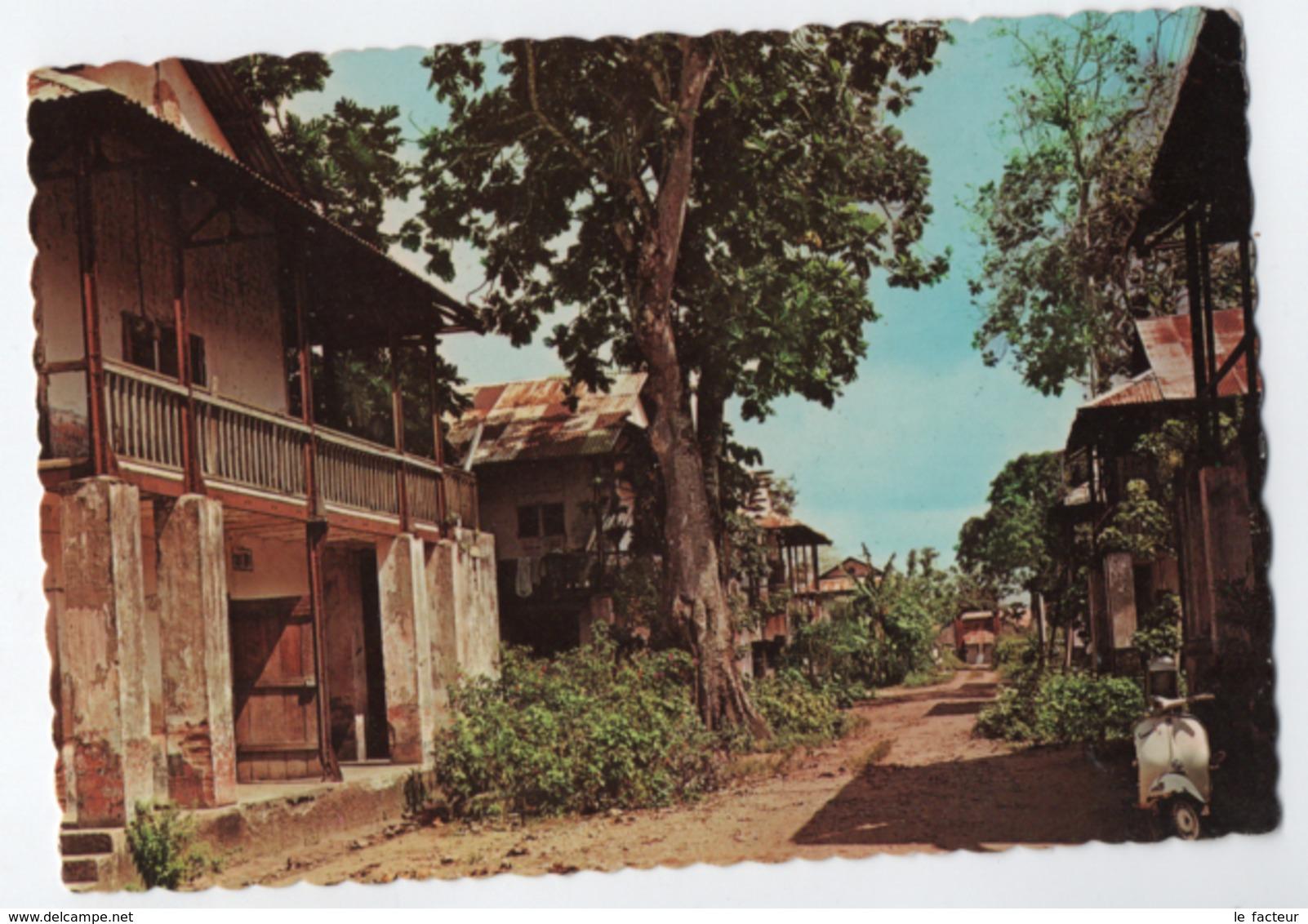 C18 CPSM  Guyane Guiana St-Laurent Du Maroni Intérieur Du Bagne - Saint Laurent Du Maroni