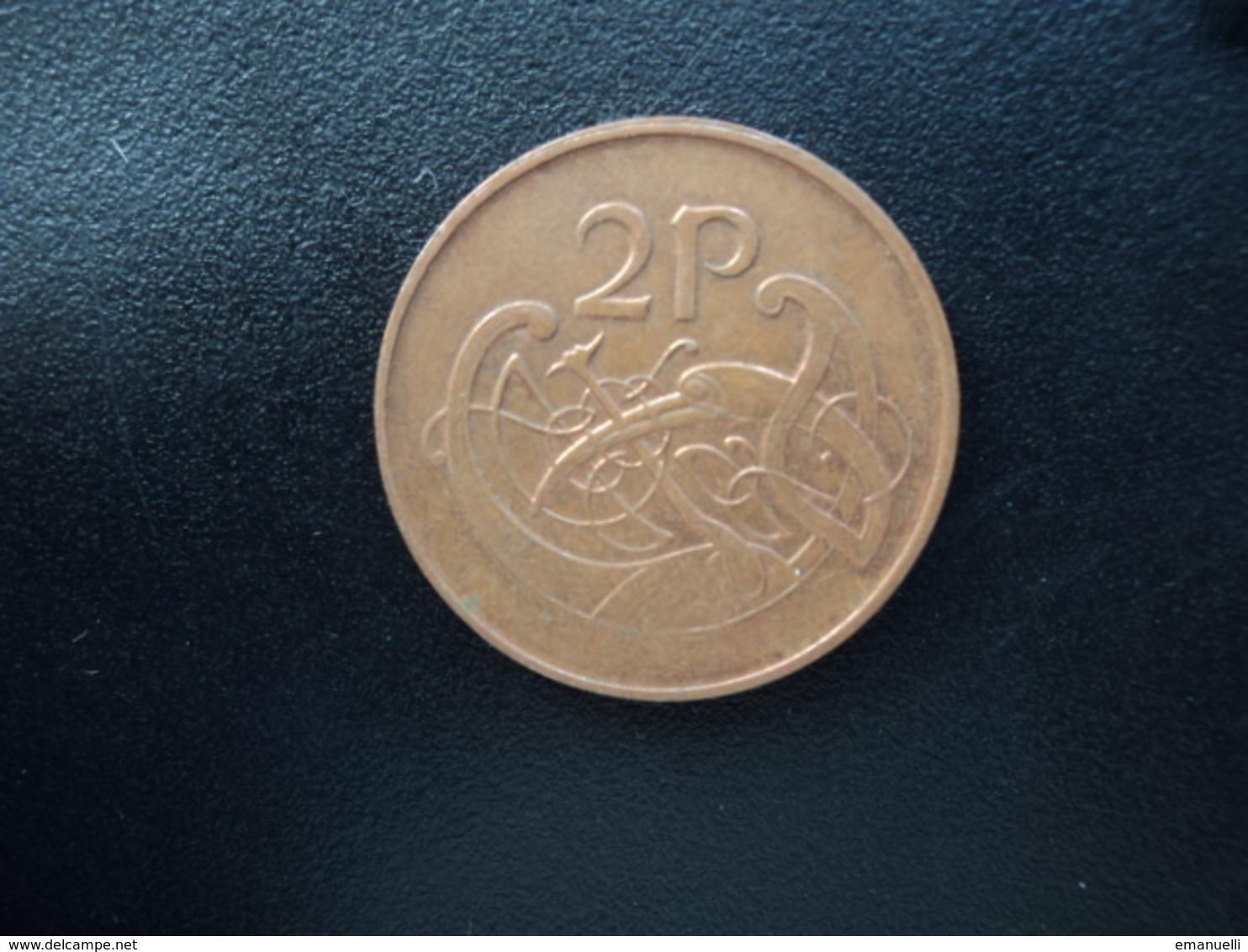 IRLANDE : 2 PENCE   1995    KM 21a      SUP - Irlande